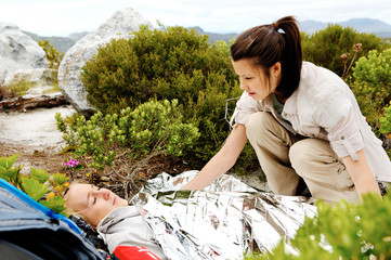 trekking emergency injury