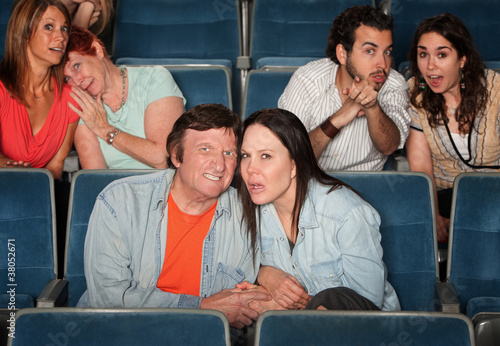 Upset Spectators