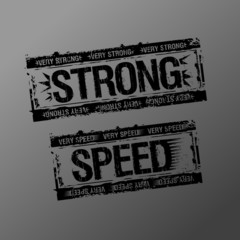Strong and speed rubber stamps