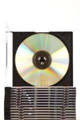 Stapel CDs