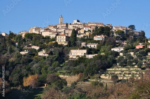 Papiers peints Fortification Côte d'azur vieux village de Mougins où résida Picasso
