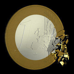 Euro Coin Cracking