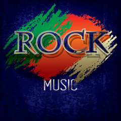 Abstract rock music background
