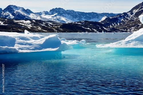 Tuinposter Gletsjers Iceberg