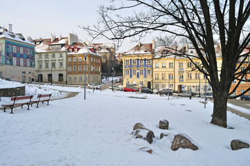 Winter Warsaw