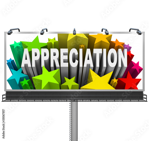 Appreciation Billboard Recognition of Good Work
