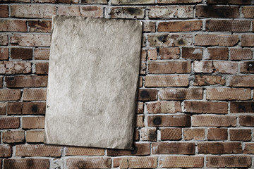 paper on brickwall