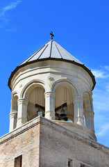 Dome of bell tower of Svetitskhoveli Cathedral