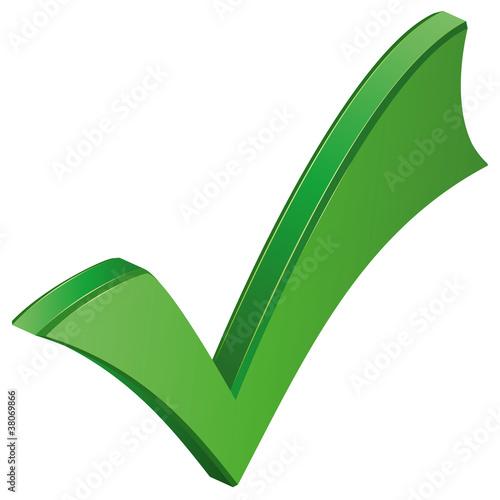 Haken grün