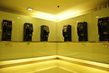 The public telephones