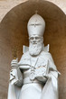 Statue of S Gregorius Armeniae Illuminator in the Vatican Rome