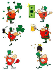 Leprechauns.Vector Collection