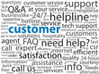"""CUSTOMER"" Tag Cloud (satisfaction service client care consumer)"