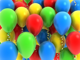 Background balloon