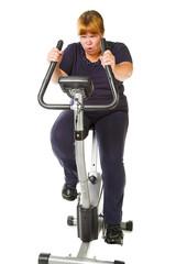 fat woman fitnes