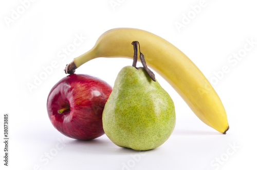 Apple, Pear and Banana