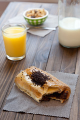 Desayuno continental, sano y equilibrado
