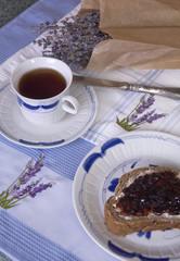 Lavender Tea with Jam