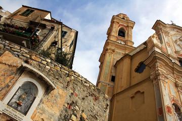Chiesa di Cervo, Liguria, Italia