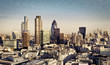 canvas print picture - City of London
