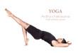 Yoga ardha chakrasana pose