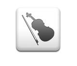 Boton cuadrado blanco silueta violin