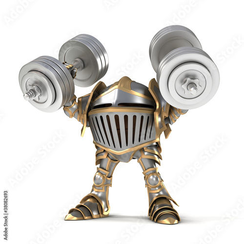 Knight weightlifter