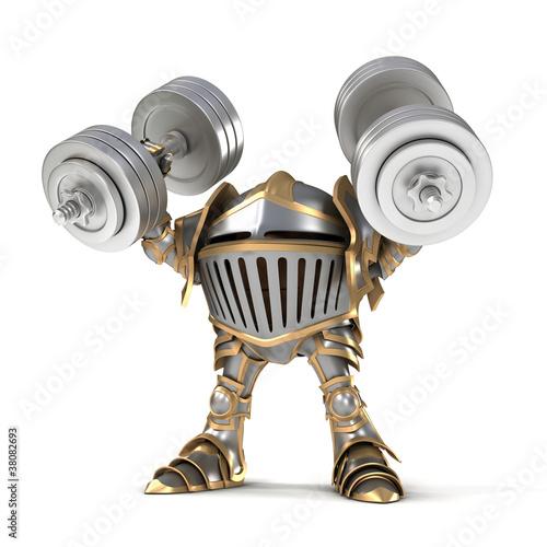 Knight weightlifter