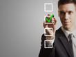 businessman - tick off checklist