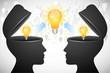 Köpfe, Idee, Brainstorming