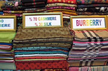 Turkish silk and cashmere shawl