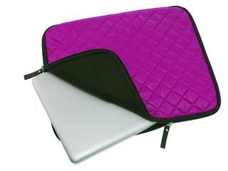 laptop inside a case