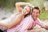 Fototapety Romantic couple outdoors