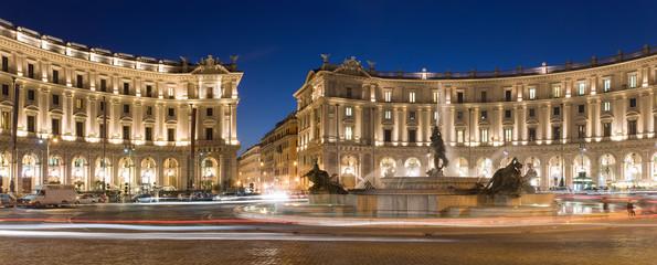 Piazza Esedra, (Piazza della Repubblica) Roma