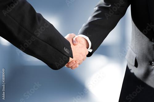 Leinwanddruck Bild Geschäftsbeziehung | Business Erfolg