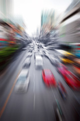 city highway traffic