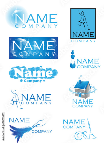 cleaning logos