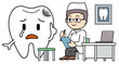 Dentist medical treatment image