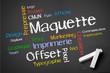 Offset Flyer Maquette