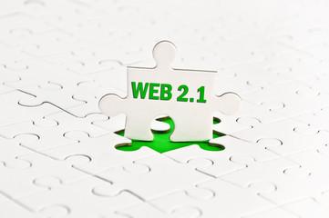 WEB 2.1 Zukunft weiterentwicklung