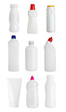 white sanitary hygiene drink bottle product