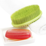 Red Soap Bar with green brush