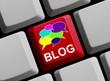 Tastatur: Sprechlasen - Blog