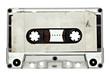 Leinwanddruck Bild - music audio tape vintage