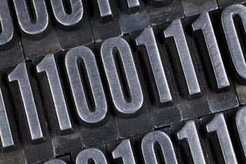 binary numbers abstract