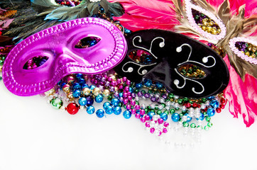 Sexy masks and beads