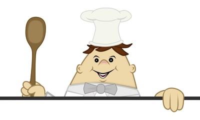 der Küchenchef empfiehlt