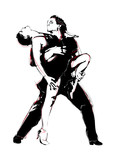 Fototapety latino dance
