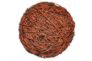 Ball of cable, global communications network
