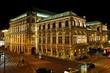 Leinwanddruck Bild - Teatro Wiener Staatsoper - Vienna, Austria